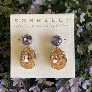 Sorrelli Swarovski Pastel Multi Earrings NWT